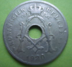 Image #2 of 10 Centimes 1920 (België)