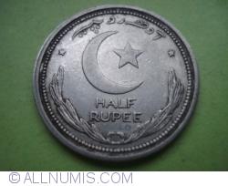 Image #1 of 1/2 Rupee 1949
