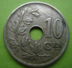 Image #1 of 10 Centimes 1922 (Belgie)