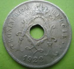 Image #2 of 10 Centimes 1922 (Belgie)