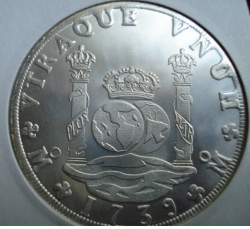 Image #1 of Mexico 8 Reales 1739  REPLICA