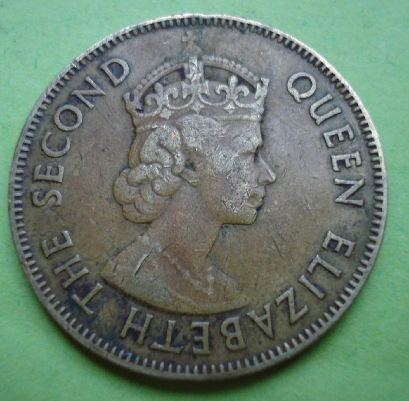 English To Italian Translator Google: 1 Penny 1955, British Colony (1941-1962)