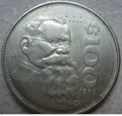 Image #1 of 100 Pesos 1989