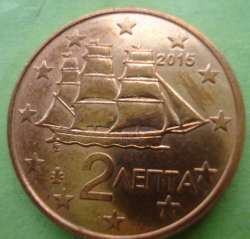 Image #2 of 2 Euro Cent 2015