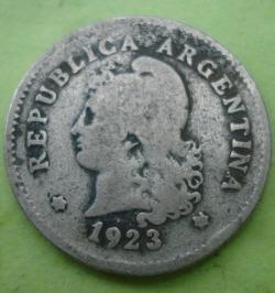 Image #2 of 10 Centavos 1923