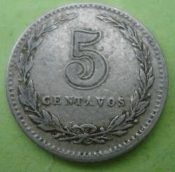 Image #1 of 5 Centavos 1921