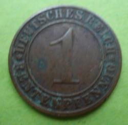 Image #1 of 1 Rentenpfennig 1923 G
