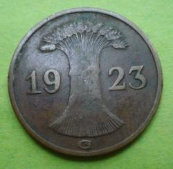 Image #2 of 1 Rentenpfennig 1923 G