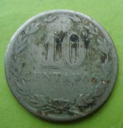 Image #1 of 10 Centavos 1922