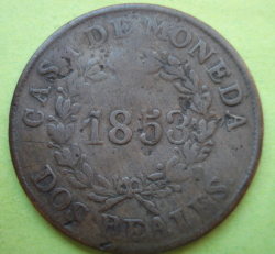 Image #1 of 2 Reales 1853