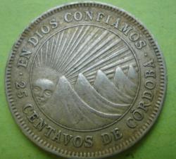 Image #1 of 25 Centavos 1954