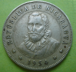 Image #2 of 25 Centavos 1954