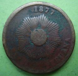 Image #2 of 2 Centavos 1877