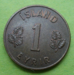 Image #1 of 1 Eyrir 1953