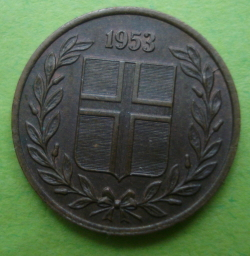 Image #2 of 1 Eyrir 1953