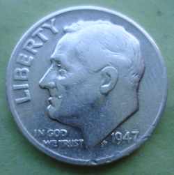Image #2 of Dime 1947