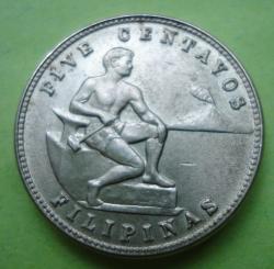 Imaginea #1 a 5 Centavos 1944