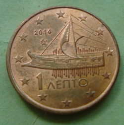 Image #2 of 1 Euro Cent 2014