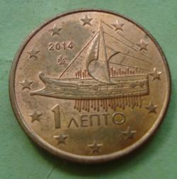 1 Euro Cent 2014