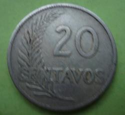 Image #1 of 20 Centavos 1918