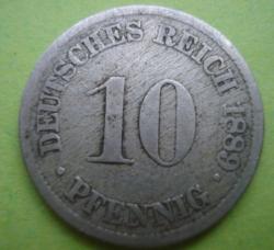 Image #1 of 10 Pfennig 1889 J
