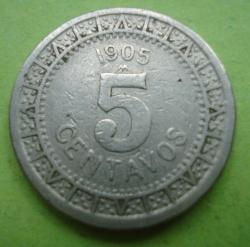 Imaginea #1 a 5 Centavos 1905