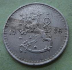 25 Pennia 1936