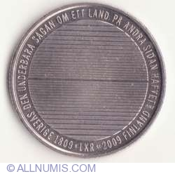 1 Krona 2009 - 200th anniversary of Finland's separation from Sweden