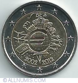 Imaginea #2 a 2 Euro 2012 - 10 ani de existenţă a bancnotelor şi monedelor euro