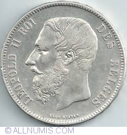 Image #2 of 5 Francs 1869