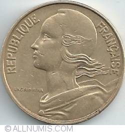Image #2 of 50 Centimes 1962 - 3 folds in collar