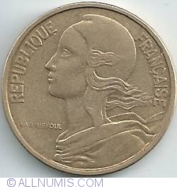 Image #2 of 50 Centimes 1964 - 4 folds in collar