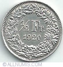 Image #1 of 1/2 Franc 1920