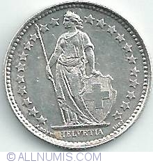 Image #2 of 1/2 Franc 1920