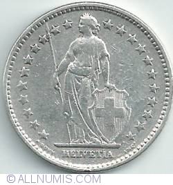 Image #2 of 2 Francs 1920