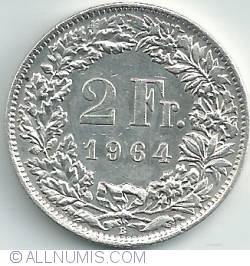 Image #1 of 2 Francs 1964
