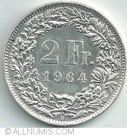 Imaginea #1 a 2 Franci 1964