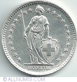 Image #2 of 2 Francs 1964