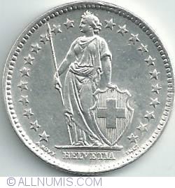 Imaginea #2 a 2 Franci 1964