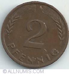 Image #1 of 2 Pfennig 1961 J
