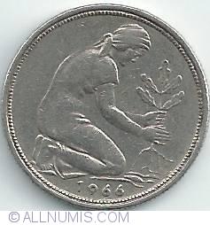 50 Pfennig 1966 J