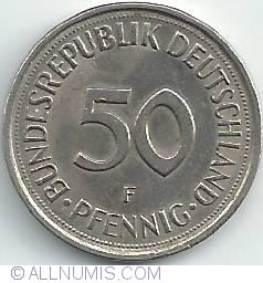 Imaginea #1 a 50 Pfennig 1980 F