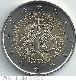 Imaginea #2 a 2 Euro 2013 - Constantine and Methodius