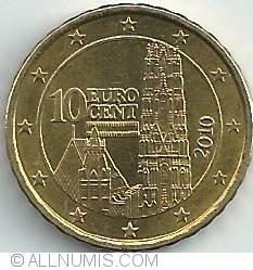 Imaginea #2 a 10 Euro Centi 2010