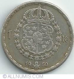 1 Krona 1950