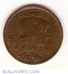 Image #2 of 1 Centime 1919