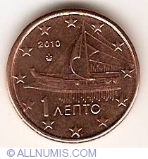Image #2 of 1 Euro Cent 2010