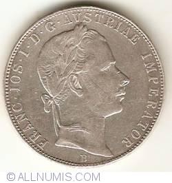 Image #2 of 1 Florin 1858 B