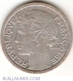 Image #2 of 1 Franc 1945 B