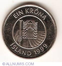 Image #2 of 1 Krona 1999